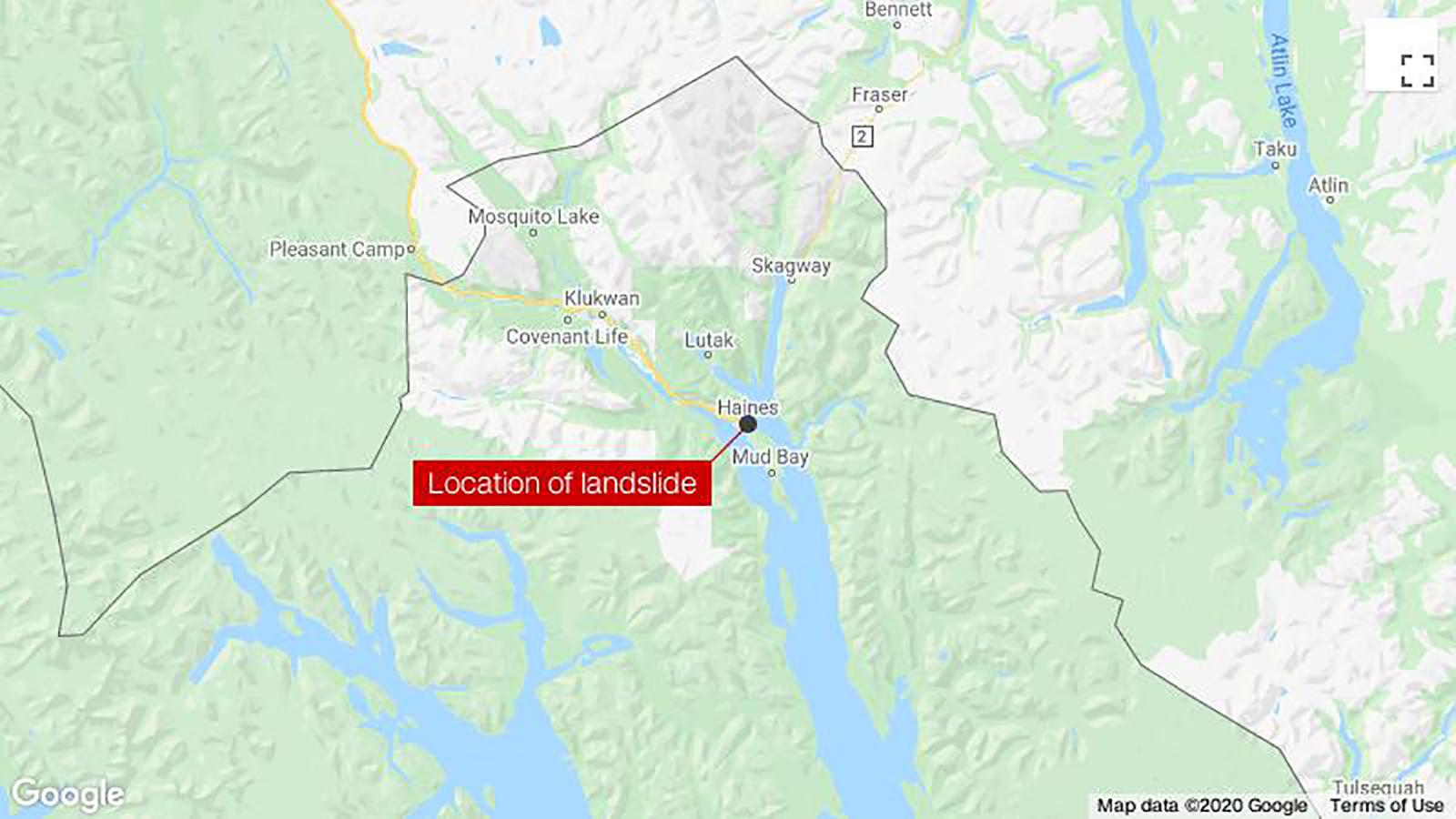 Six people are missing after landslides in Alaska