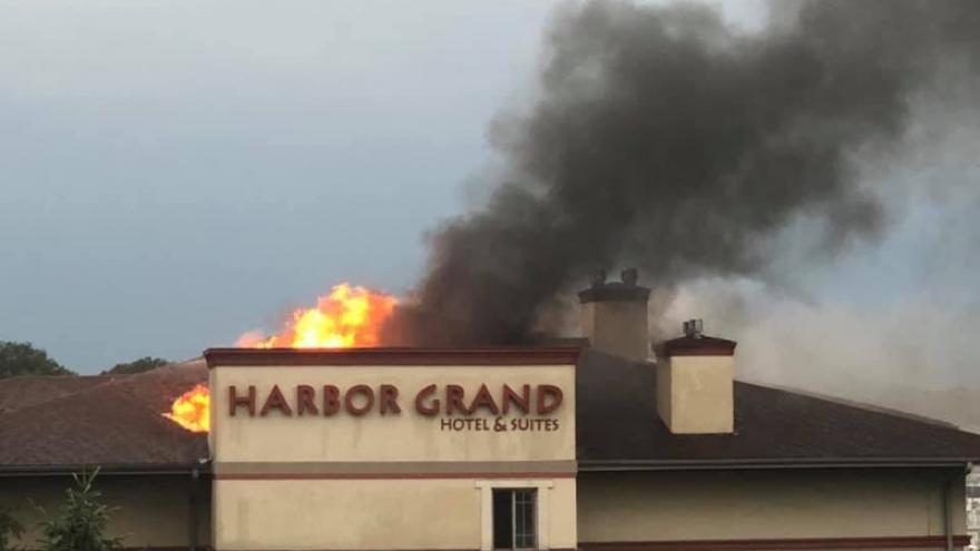 Lightning Strike Causes Hotel Fire In Berrien County