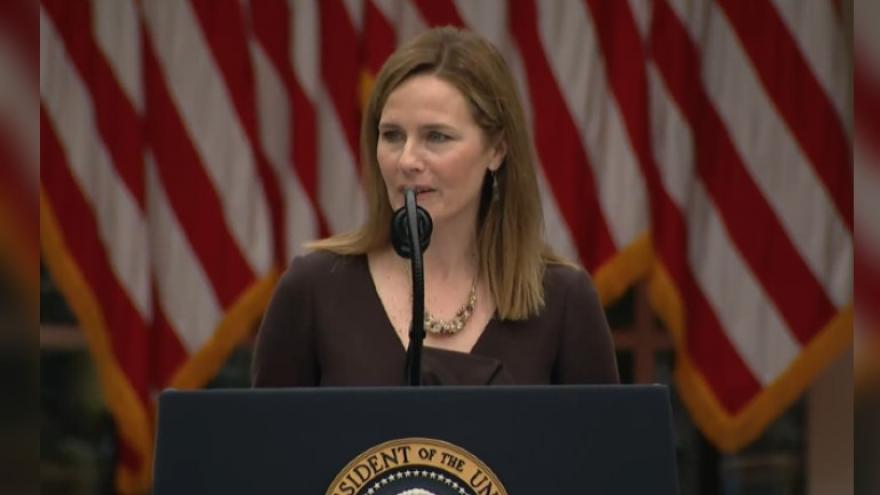 Trump Picks Conservative Amy Coney Barrett For Supreme Court
