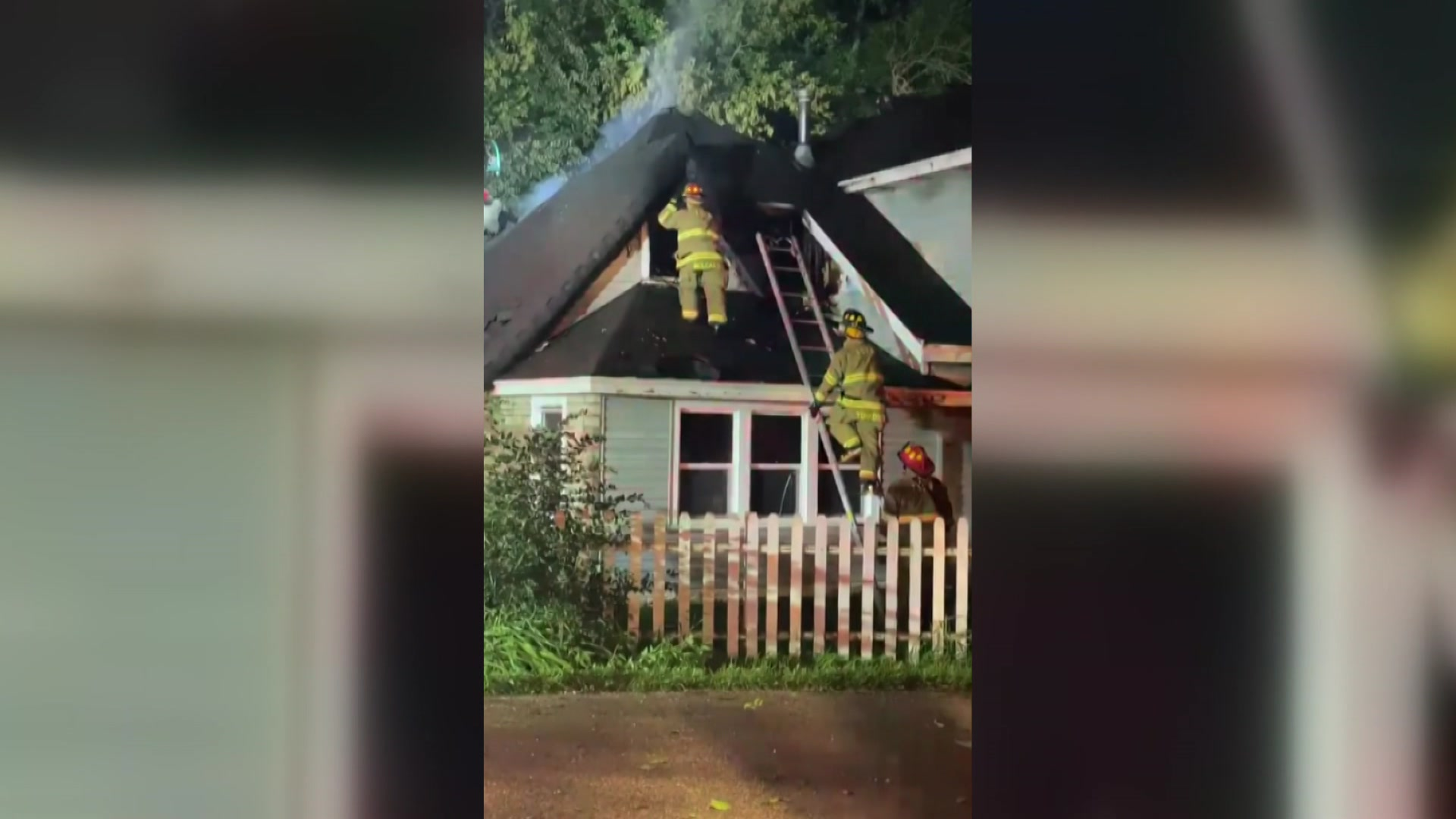 Fire destroys family home in Paddock Lake credit: Adrian Machalik by Family's home destroyed in overnight fire in Paddock Lake, community asks for help