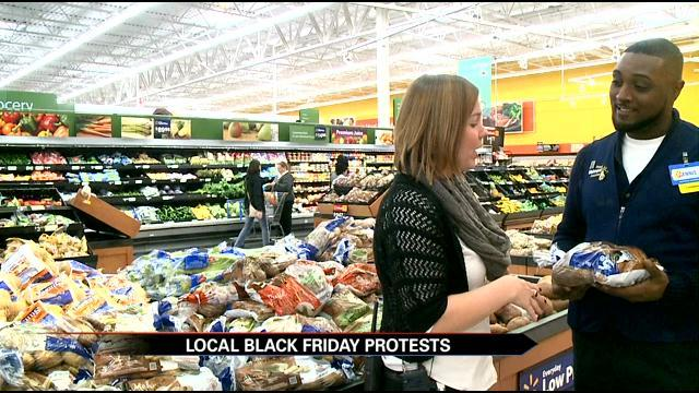 Walmart Officials Speak Out After Black Friday Protests