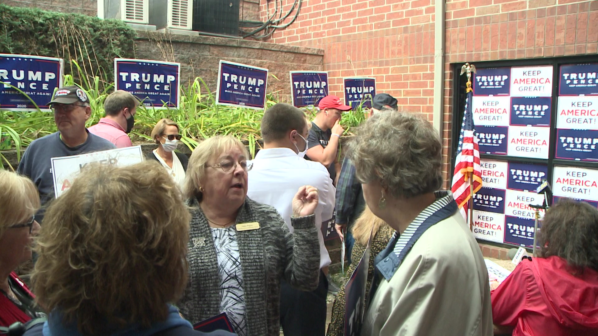 MAGA meet-up hosted in Germantown to connect with Trump supporters