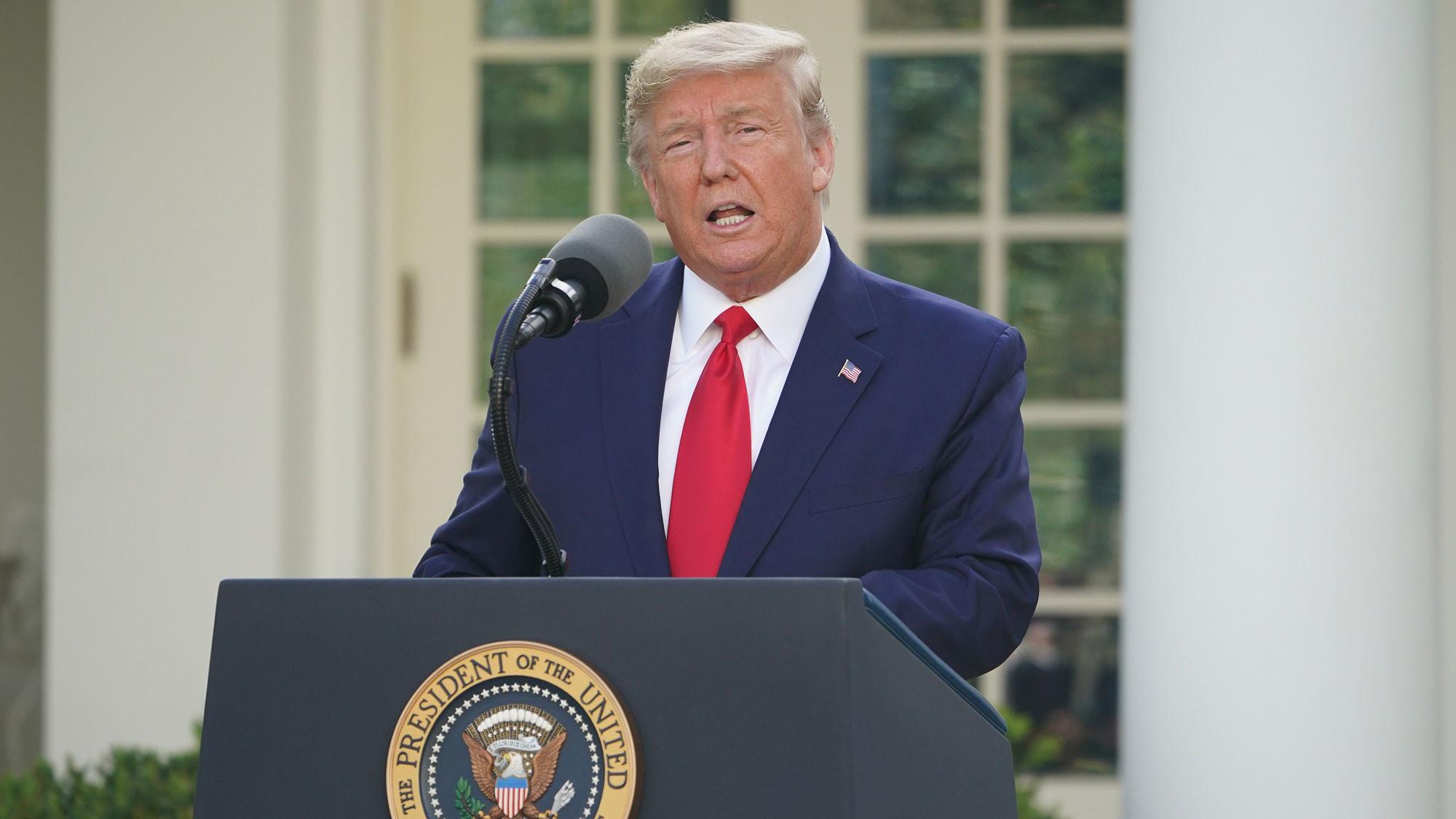 Read President Trump S Rose Garden Speech On Protests