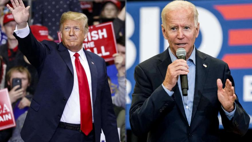 Joe Biden And Pres Donald Trump Face Off In First Presidential Debate Of 2020