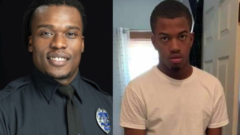 Wauwatosa Police Officer Joseph Mensah, Alvin Cole  by