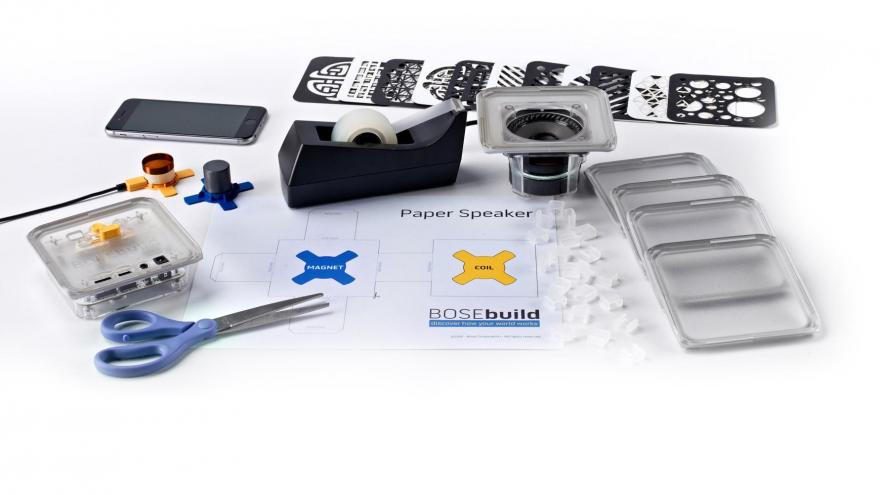 Electronics Company Creates Build-it-Yourself Bluetooth Speaker