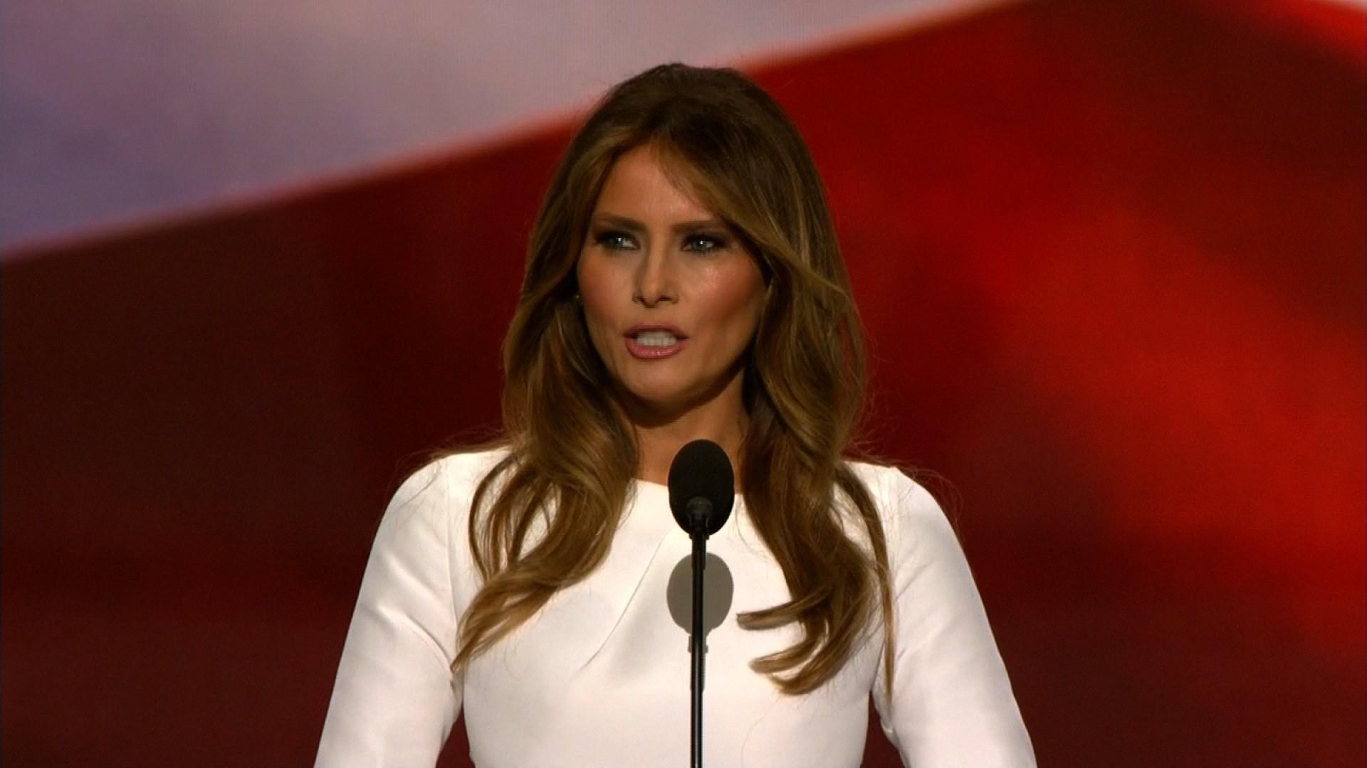 Nude photos of Melania Trump suggest that she may have