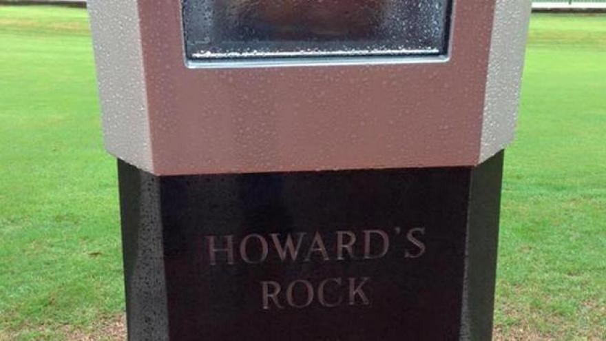 Clemson S Howard S Rock May Have Mystical Powers Unfortunately for clemson, two boneheads broke in the memorial stadium last. rock may have mystical powers