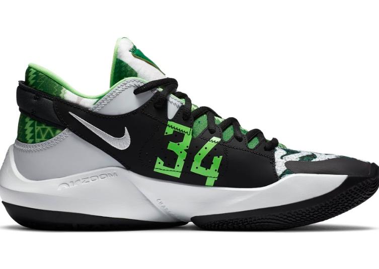 Giannis Antetokounmpo's second signature shoe available ...